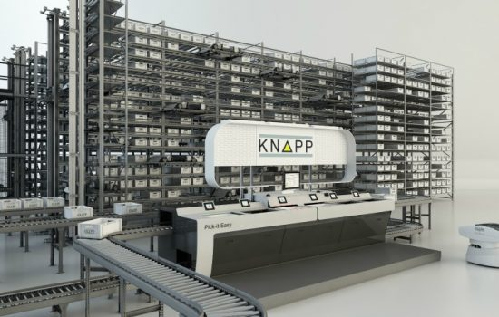IMHX 2016 - Warehouse automation solution provider, KNAPP will be exhibiting in Hall 12, Stand U85