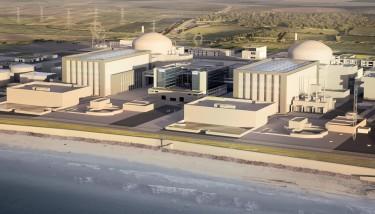 CGI impression of Hinkley Point C - image courtesy of EDF Energy.