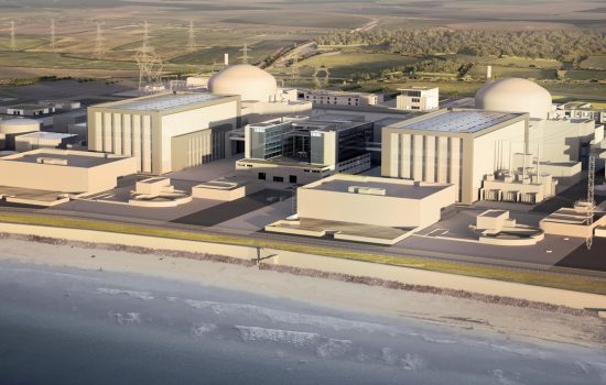 CGI impression of Hinkley Point C - image courtesy of EDF Energy.