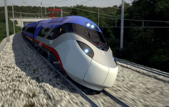 Amtrak will use the RRIF loan to buy new trains built by Alstom. Image courtesy of Alstom.