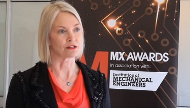 Business Minister Margot James speaking at the lauch of The Manufacturer MX Awards 2015.