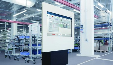 ActiveCockpit is a real-time information system integrating process data from the line and production control data from higher-end applications – image courtesy of Bosch Rexroth.