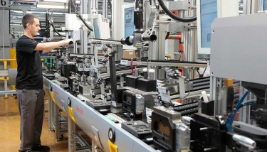 Data on the logistical set-up times required for product changeover indicates something revolutionary is happening – image courtesy of Bosch Rexroth.