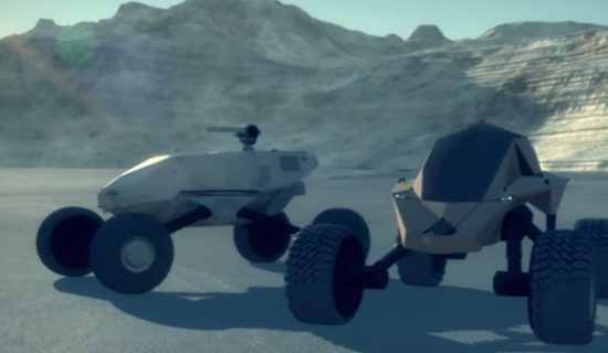 GXV-T Mobility Video - Artists' Concept - Image Courtesy of DARPA.