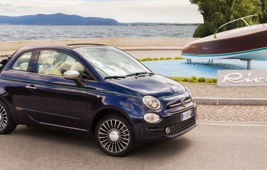 Samsung is looking to take over Fiat auto parts maker, Magneti Marelli. Fiat has recently released the new Fiat 500 Riva, which the company calls 'The Smallest Yacht in the world' and a 'symbol of outstanding Italian beauty' - image courtesy of Fiat.