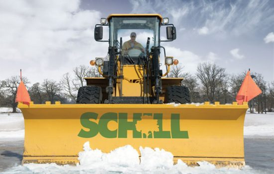 Award-winning ASCA-Certified Commercial Snow and Ice Removal Services throughout Northern Ohio - image courtesy of Schill Grounds Management