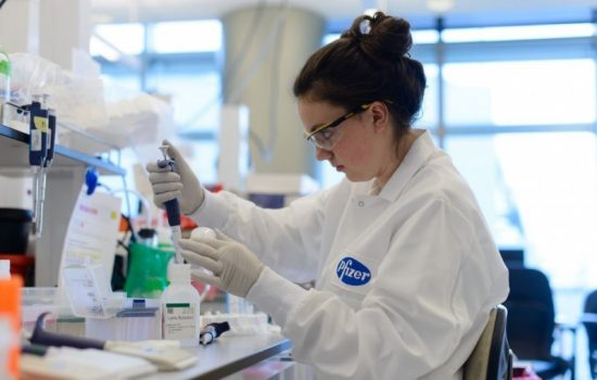 Pfizer is interested in continuing Medivation's research into anti-cancer drugs. Image courtesy of Pfizer.