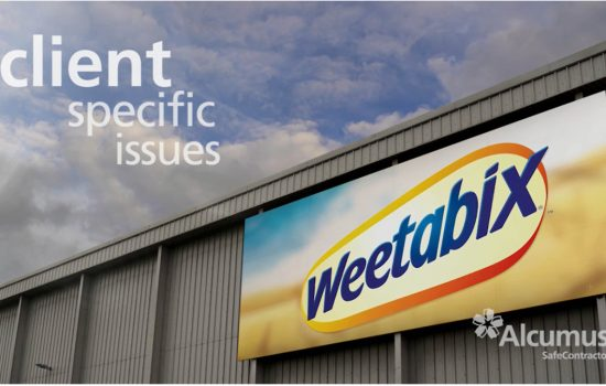 """No SafeContractor membership, no entry into Weetabix"""" – Gary Mobbs, Group Heath & Safety Manager at Weetabix Ltd"""