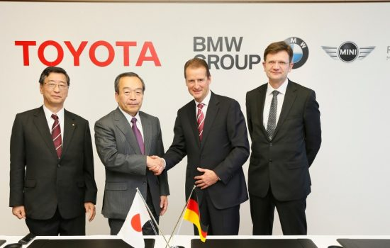 BMW and Toyota deepened their collaboration by signing a binding agreement in 2013 - image courtesy of BMW