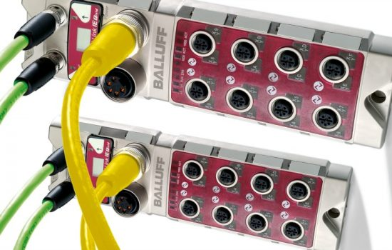 Balluff's CC-Link IE network portfolio consists of IP67 protection rated machine mount I/O devices and IO-Link masters.