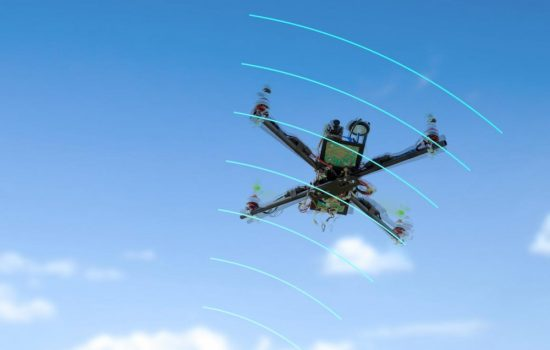 Dedrone will work with Airbus to track and jam small drones. Image courtesy of Dedrone.