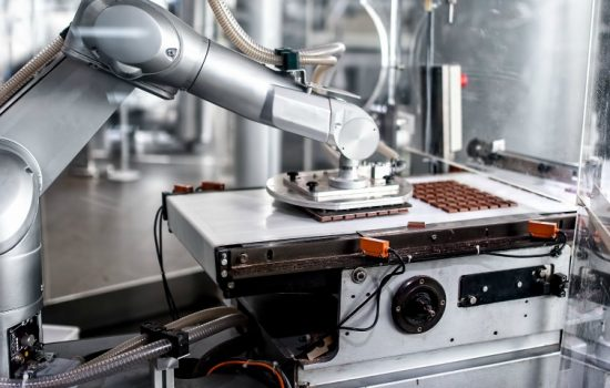 Stock Photo Industry 4 Automation Chocolate Technology