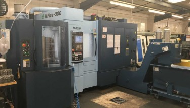 The new Matsuura 5 pallet horizontal milling machine installed at the Bernard Holmes - image courtesy of Bernard Holmes