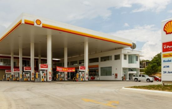 Shell petrol stations could play host to EV chargers in 2017. Image courtesy of Wikipedia - Uwe Aranas.