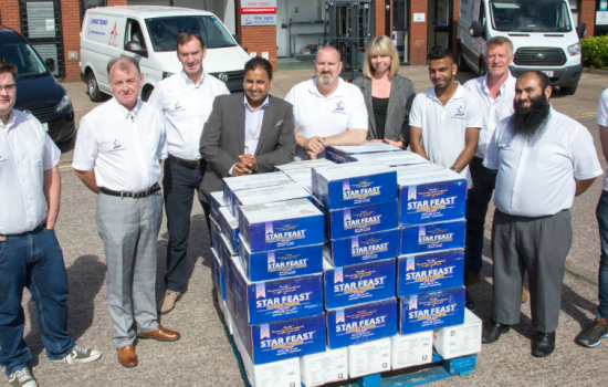 Star Agro Marine Foods have reached £10m in sales and celebrated by opening a new trade counter for the public - image courtesy of Star Agro.