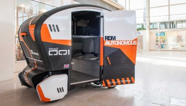 The Pod Zero is being showcased for the first time - image courtesy of RDM.