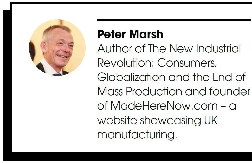 Peter Marsh Bio - Sep 2016