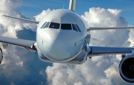 Stock UK Aerospace Clouds Aeroplane Aviation