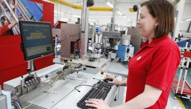Employing nearly 200 people, PP Control & Automation has benefitted significantly from the 'outsourcing' trend being employed by machinery builders.