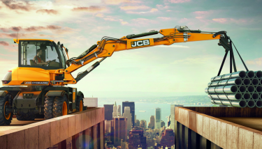 Hydradig was developed in secret over three years - image courtesy of JCB.