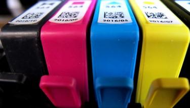 HP printer ink cartridges. Image courtesy of Flickr - frankieleon