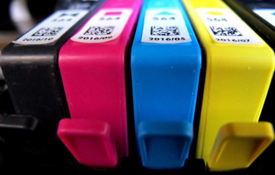 HP printer ink cartridges. Image courtesy of Flickr - frankieleon