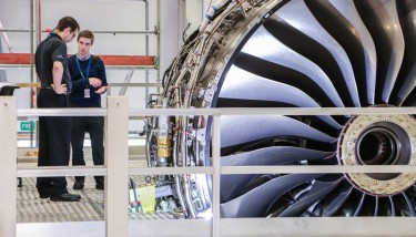 Hearing the Rolls-Royce could rebalance its business focus outside the UK is enough to send shivers all the way down the UK aerospace supply chain – image courtesy of Rolls-Royce.