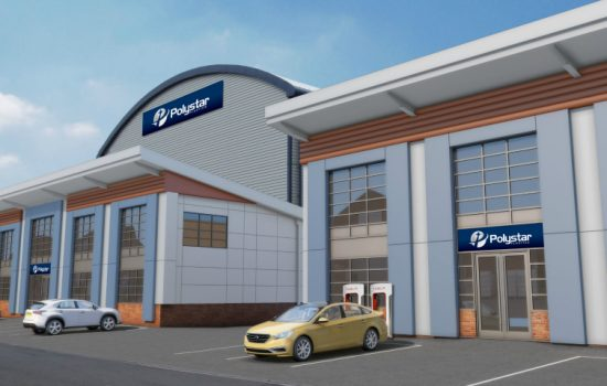 Artists render of what the new Polystat Plastics buildings will look like - image couresty of Polystar.