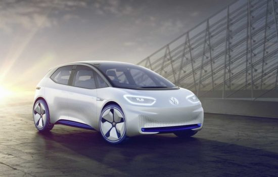 Volkswagen's new I.D. concept car. Image courteys of Volkswagen Group