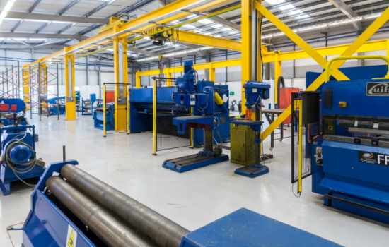 The test facility covers 3,500 sqft and offers a full spectrum of materials handling technology - image courtesy of FPE Global.
