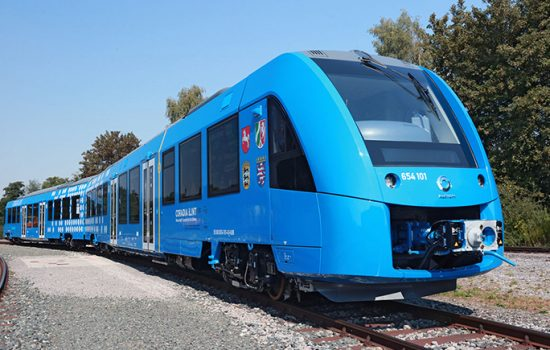 Alstom has presented its zero-emission hydrogen train at InnoTrans - image courtesy of Alstom