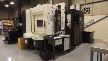 The investment also included a Makino 5-axis VIPER CNC grinding capacity - image courtesy of JJ Churchill.