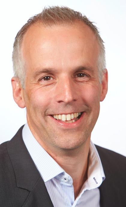 Martin Hurworth, managing direcotr, Harvey Water Softeners.