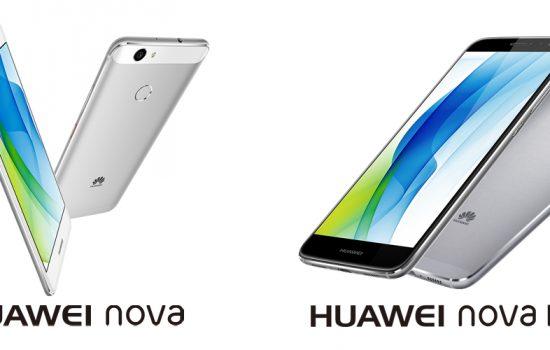 Huawei presentó sus modelos Nova y Nova Plus