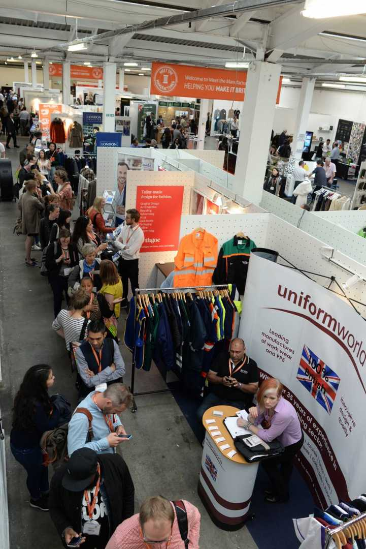 The Meet the Manufacturer trade show and conference came about because Hills realised there was a big disconnect between buyers and manufacturers in the UK - image courtesy of Make it British.