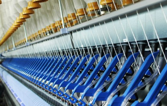 The mill will have the capacity to produce roughly 1,000 tonnes of cotton per year - image courtesy of English Fine Cottons.