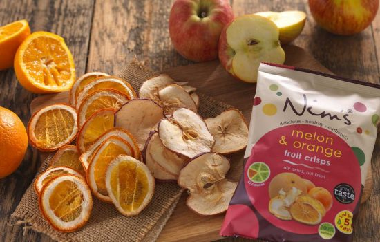Nim's Fruit Crisps was set up by Nimisha Raja in 2014 - image courtesy of Nim's Fruit Crisps.