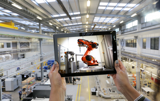 The opportunities from digital technologies are sheer limitless - image courtesy of The Manufacturing Technology Centre.