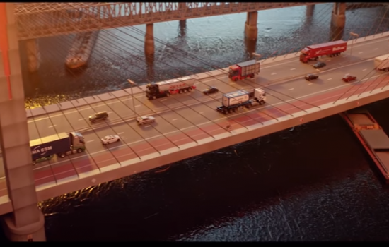 Volvo Group has won the Gold Dolphin at the Cannes Corporate Media & TV Awards for its latest corporate film, which uses miniature models - image courtesy of Volvo