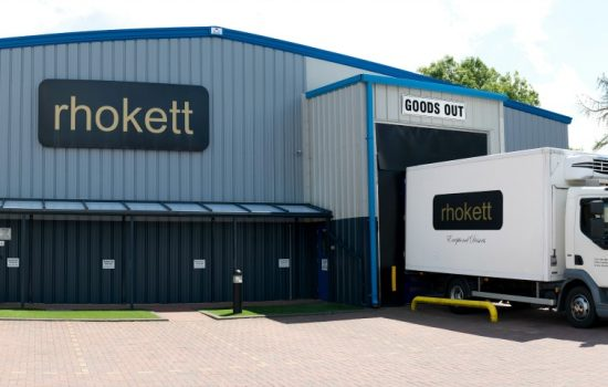 The new factory is situated opposite the company's second factory – image courtesy of Rhokett.