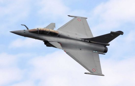 India will buy 36 Dassault Rafale jets. Image courtesy of Wikipedia - Tim Felce