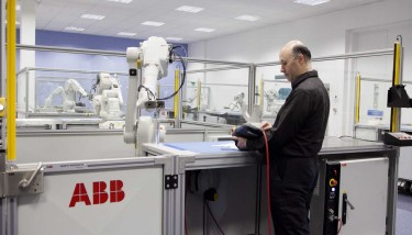 Preparing the UK for the emerging digital landscape is reportedly a key priority for ABB Robotics - image courtesy of ABB.