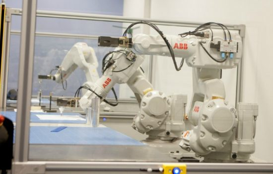 ABB Robotics refurbishes training centre to reflect the new era for UK manufacturing