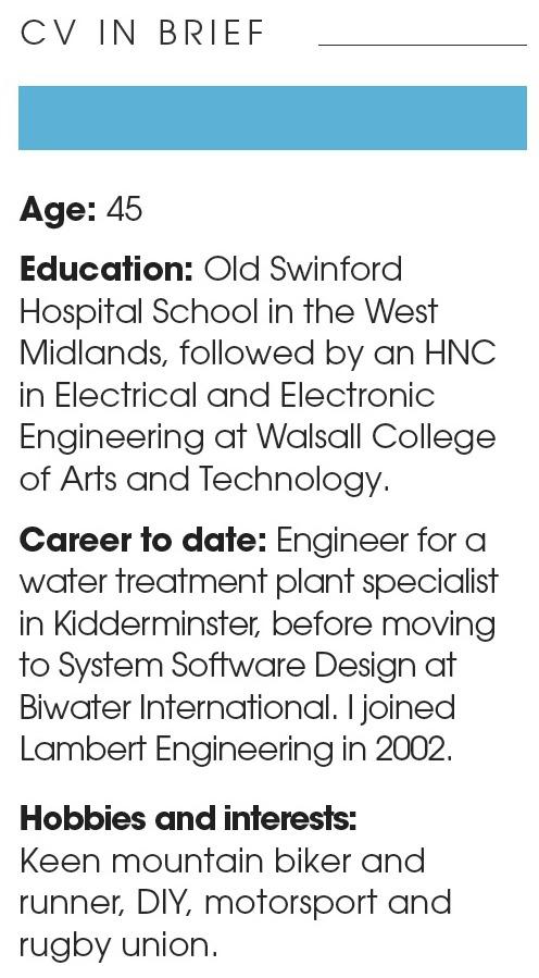 Julian Gardiner, Lamber Engineering - CV Oct 2016
