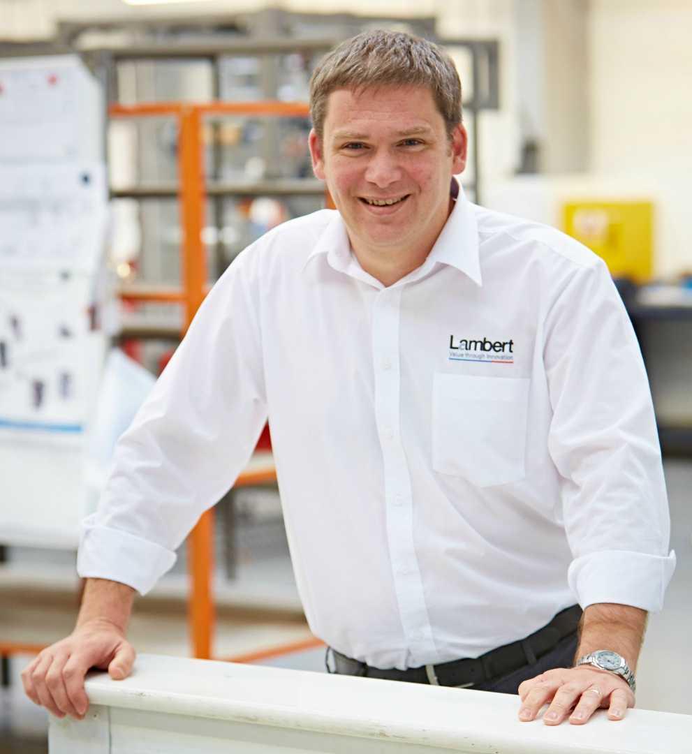 Julian Gardiner, control systems manager, Lambert Engineering.