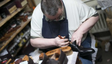 The process of making a pair of John Lobb's can take some months - image courtesy of Jon Nicholson.