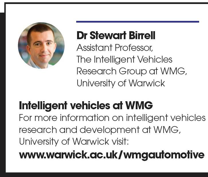 Dr Stewart Birrell - WMG University of Warwick