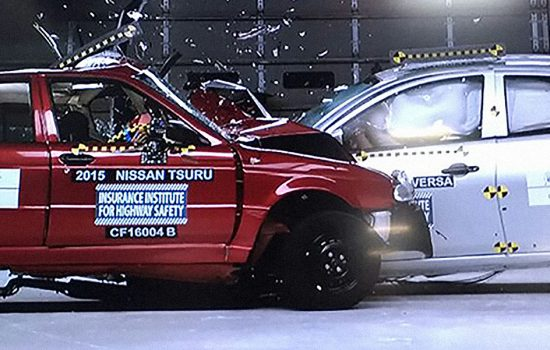 Nissan has taken the zero star safety rated Tsuru out of production following an NCAP campaign - image courtesy of NCAP