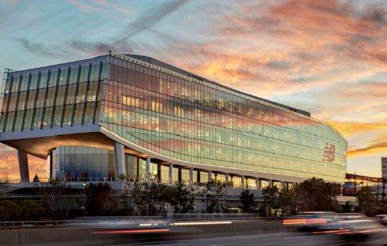 The New Balance World Headquarters building in Boston - image courtesy of New Balance.