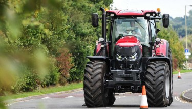 Ross Macdonald, Case IH Advanced Farming Systems, at the helm - image courtesy of CNH Industrial.